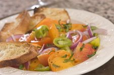 Free Fresh Tomato Salad Stock Image - 6309761