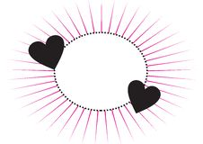 Free Frame With Hearts Royalty Free Stock Photo - 6309895