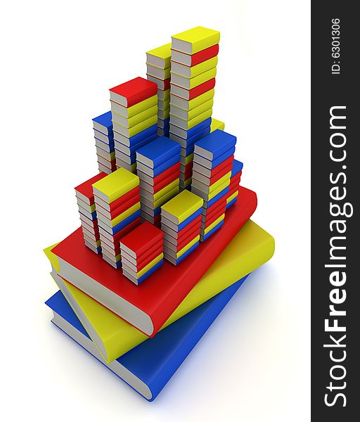 Book towers