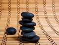 Free Cairn Of Black Stones Royalty Free Stock Photo - 6319565