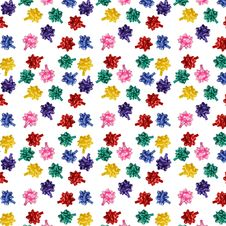 Free Bows Texture Royalty Free Stock Image - 6310246