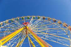 Free Blue Sky And Observation Wheel Stock Images - 6310524