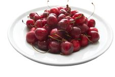 Free Plate Of Cherries Royalty Free Stock Image - 6310526