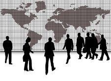 Free Business People And Map Royalty Free Stock Photography - 6310987