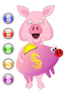 Free Piggy Stock Image - 6311011