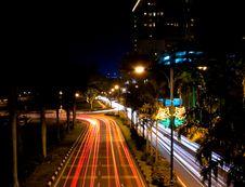 Free Borneo Traffic Blur Stock Photo - 6311680