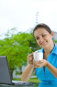 Free Coffee And News Stock Image - 6311831