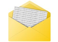 Free Email Envelope Button Stock Photos - 6312133