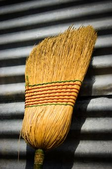 Free Broom Head Stock Image - 6312621