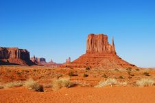 Free Monument Valley Royalty Free Stock Photos - 6313568