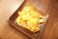 Free Potato Chips Stock Photography - 6314272
