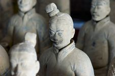 Chinese Terracotta Warrior Stock Images