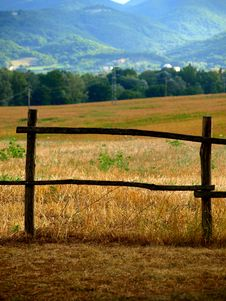 Free Fench In Countryside Stock Photo - 6315710