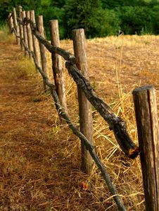 Free Fench In Countryside Royalty Free Stock Photography - 6315737