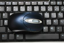 Free Mouse On Keyboard Stock Photo - 6315820