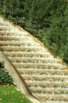 Free Stairwell Of Water Stock Photography - 6315992