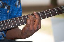 Free Guitarist At Work Stock Photo - 6316620