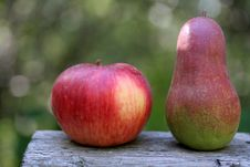 Free Apple And Pear Stock Images - 6318334