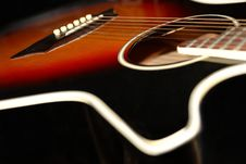 Free Guitar 2 Stock Photography - 6319392