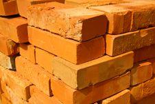 Free Red Cavity Bricks Stock Photos - 6319503