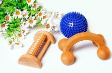Free Massage Utensils Royalty Free Stock Photography - 6319587