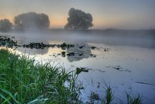 Free FOGGY RIVER Royalty Free Stock Image - 6319826