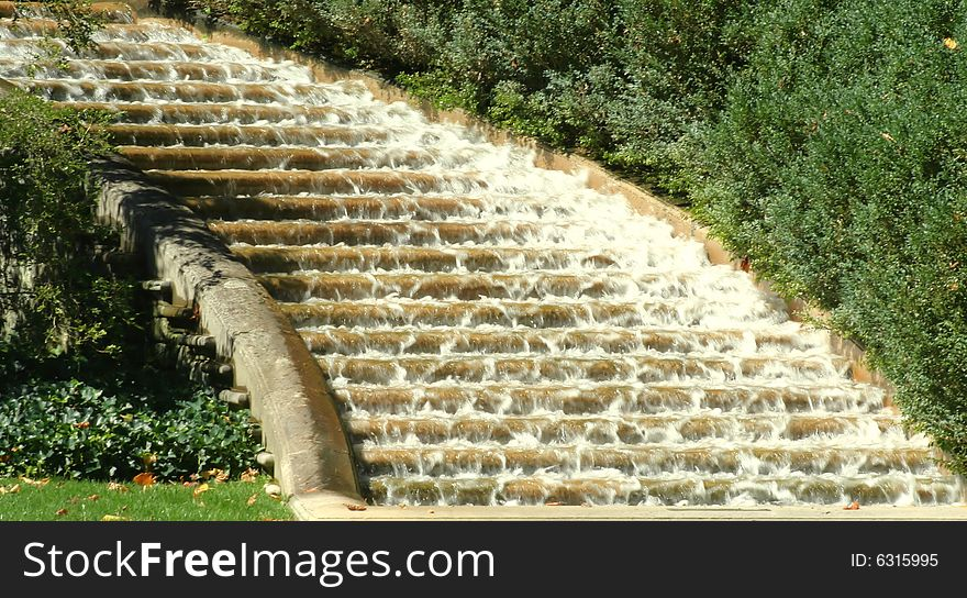 Water Down The Stairs