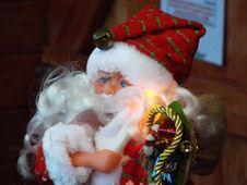 Santa Claus Doll Stock Photos