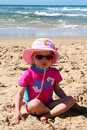 Free Little Girl On The Beach Royalty Free Stock Images - 6324869