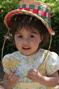 Free Young Girl With Easter Basket Bonnet Royalty Free Stock Photos - 6327168