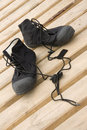 Free Divers Dry Suit Boots Stock Image - 6329891