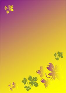 Free Graphic Graceful Flowers Stock Photo - 6320130