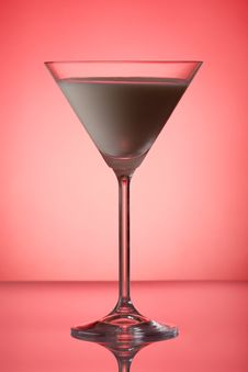 Milky Cocktail Royalty Free Stock Photos
