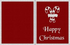 Background For Christmas Card Royalty Free Stock Photo