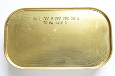 Sardine Tin Stock Images