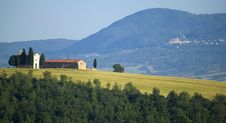 Free TUSCANY Countryside With Distant Farms Royalty Free Stock Image - 6320816