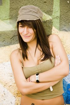 Free Young Woman Smiling At Camera Royalty Free Stock Photography - 6320947