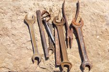 Free Old Tools Stock Photography - 6320962