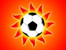 Free Football Sun Royalty Free Stock Photos - 6321058