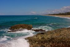 Free Red Rocky Beach Stock Photos - 6321443