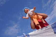 Free Baby And Sky7 Stock Photos - 6321453
