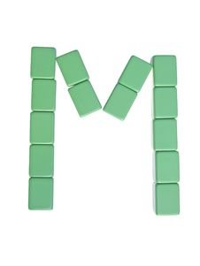 Free Mahjong Tiles Letter M Royalty Free Stock Images - 6321489