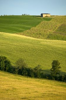 TUSCANY Farm Stock Photography