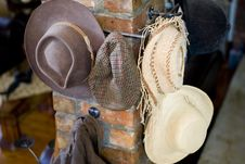 Free Variety Of Hats Stock Image - 6321711