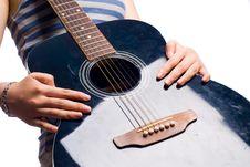 Free Playing Guitar Royalty Free Stock Photo - 6322185
