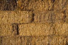Free Straw Brick Wall Pattern Royalty Free Stock Photography - 6322467