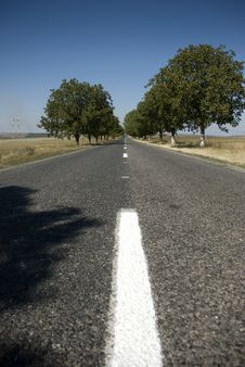 Free Empty Road Stock Photography - 6322562