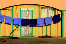 Free Laundry Hanging Dry Royalty Free Stock Images - 6322789