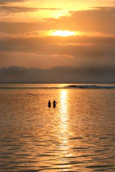 Free Romantic Sunset Royalty Free Stock Images - 6322909