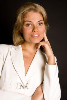 Free Fashion Portrait Of A Beautiful Girl Stock Photography - 6323032